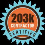 Certified-203K-contractor certified